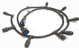 FORD OEM 6.0L V8 Right Side Glow Plug Harness For Models Built After 1/15/2004 4C2Z-12A690-AB