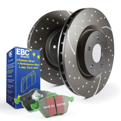 EBC Stage 3 Front Brake Kit - Greenstuff 6000 and GD Rotors