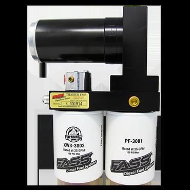 FASS Titanium Signature Series Diesel Fuel Lift Pump 220GPH@45-50PSI Ford Powerstroke 7.3L and 6.0L
