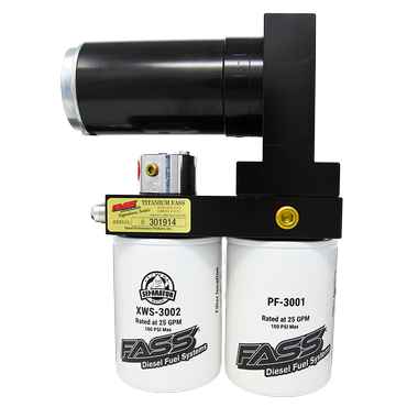 FASS Titanium Signature Series Diesel Fuel Lift Pump 240GPH@45-50 PSI Ford Powerstroke 7.3L and 6.0L
