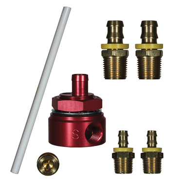 FASS DIESEL FUEL 5/8 SUCTION TUBE KIT WITH BULKHEAD FITTING STK-1002