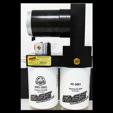 FASS Titanium Signature Series Diesel Fuel Lift Pump 165GPH@10PSI Ford Powerstroke 6.7L 2011-2016