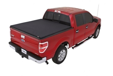 Lund 04-14 Ford F-150 (5.5ft. Bed) Genesis Elite Tri-Fold Tonneau Cover - Black 95872