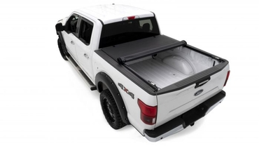 Lund 04-18 Ford F-150 (5.5ft. Bed) Genesis Roll Up Tonneau Cover - Black 96072