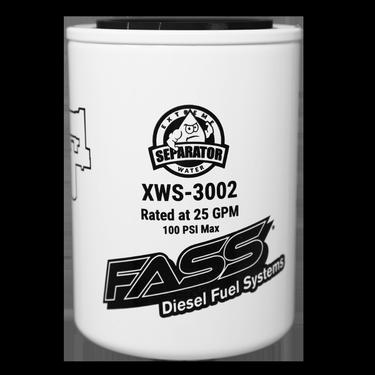 FASS Hydroglass Titanium Signature Series Extreme Water Separator XWS-3002