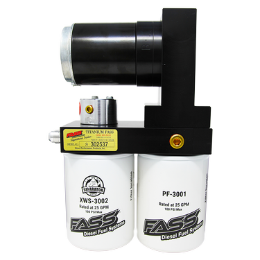 FASS Titanium Signature Series Diesel Fuel Lift Pump 100GPH Cummins 5.9L and 6.7L 05-18(TS D07 100G)