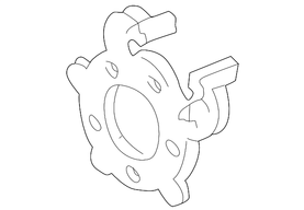 F81Z-2B292-BA -  Rear Brake Anchor Plate (99-04)
