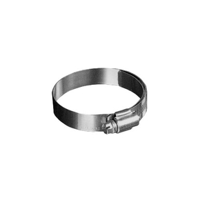 """Shielded/Lined Worm Gear Hose Clamp, 3/4"""" - 15/16"""" (Pack of 10)"""